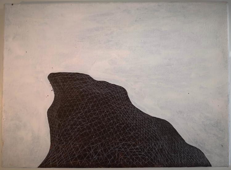 'Haptic Landscape III', 2014, ett konstverk av Backa Carin Ivarsdotter
