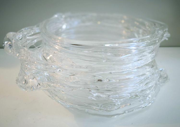 'Glass Object I', 2018, ett konstverk av Backa Carin Ivarsdotter