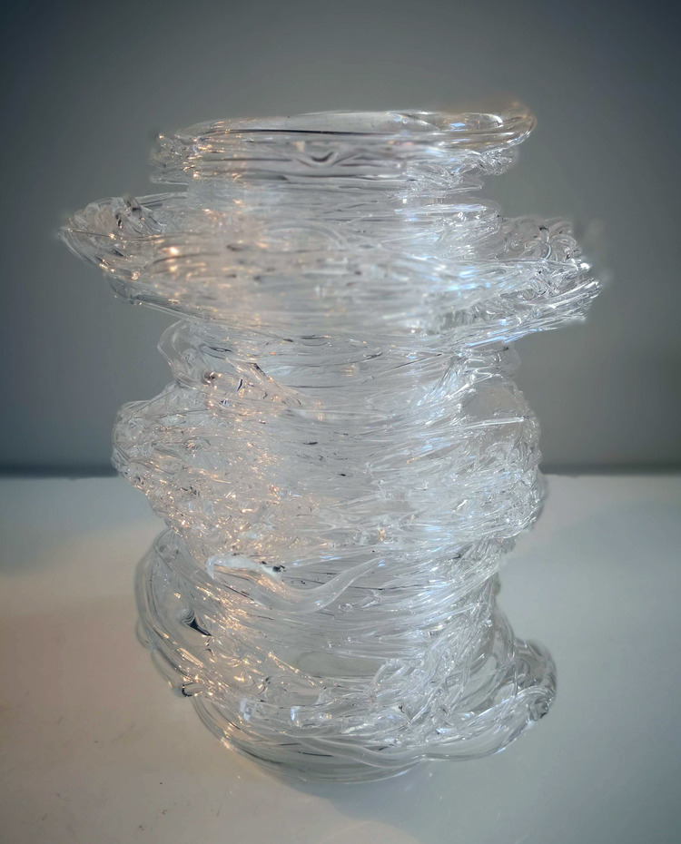 'Glass Object IIII', 2018, ett konstverk av Backa Carin Ivarsdotter