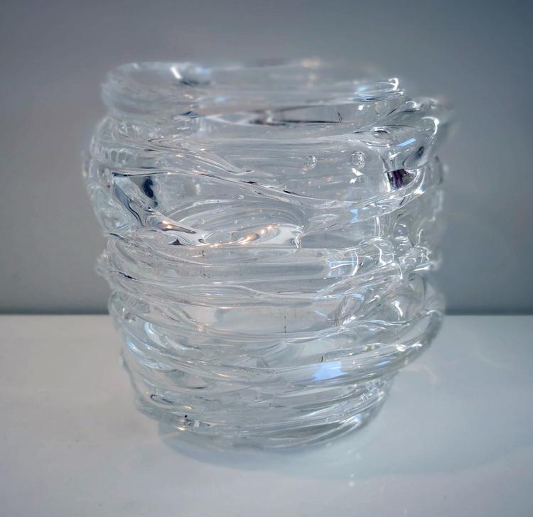 'Glass Object III', 2018, ett konstverk av Backa Carin Ivarsdotter