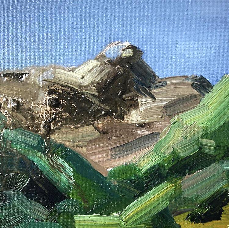 'miniscape04', 2018, ett konstverk av Jenny Hedlund