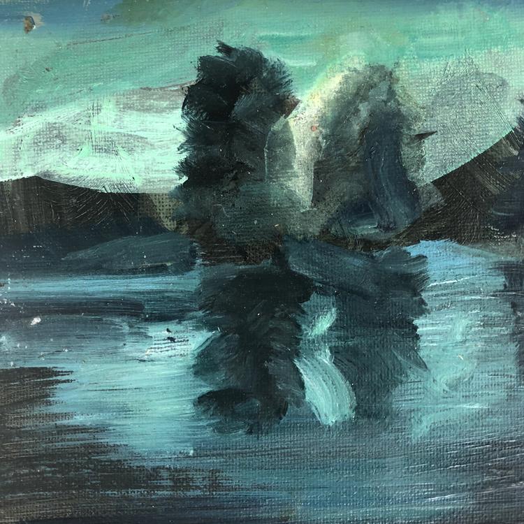 'miniscape06', 2018, ett konstverk av Jenny Hedlund
