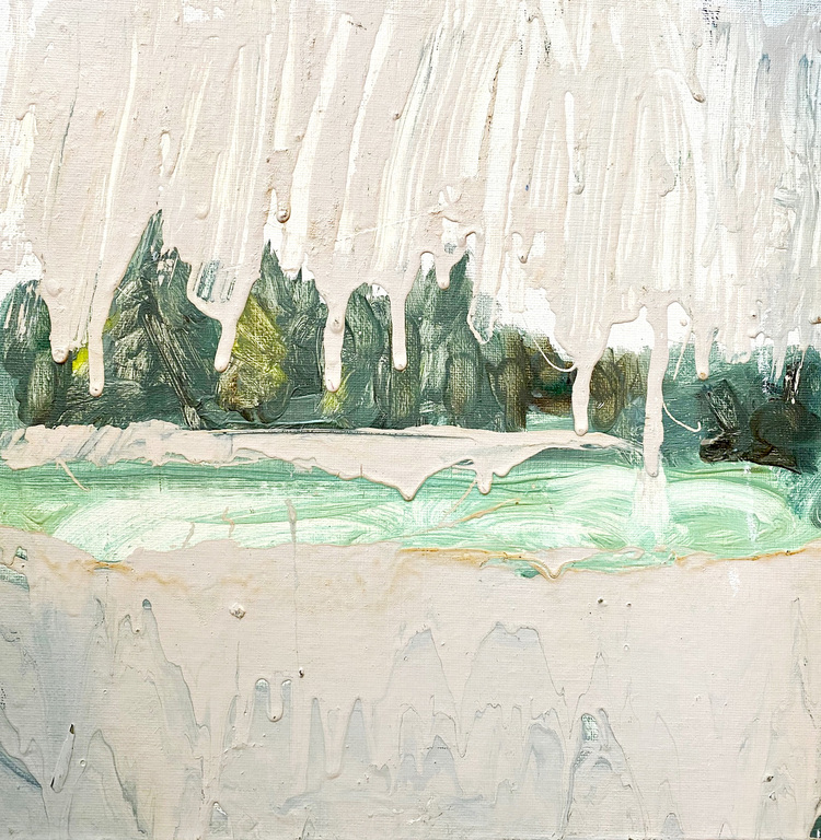 'Vintern', 2016, ett konstverk av Jenny Hedlund