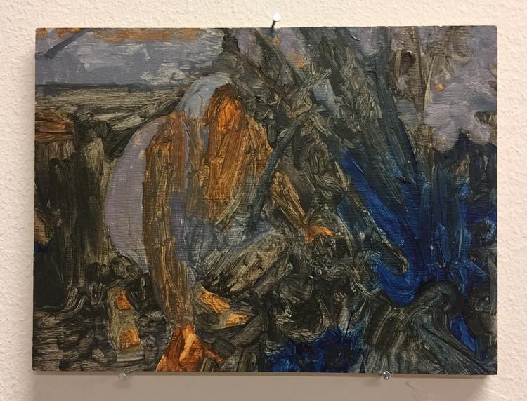 'Hide and seek', 2018, ett konstverk av Evelina Lindström