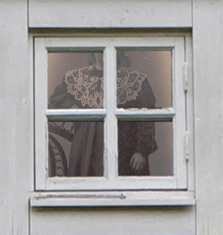 'Trompe l'oeil III', 2020, ett konstverk av Christel Lundberg