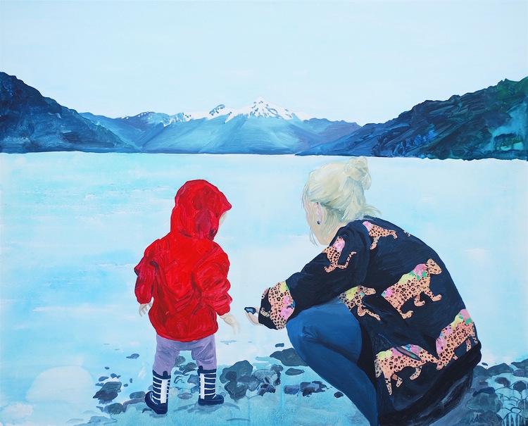 'Wonderings', 2018, ett konstverk av Frida Johansson