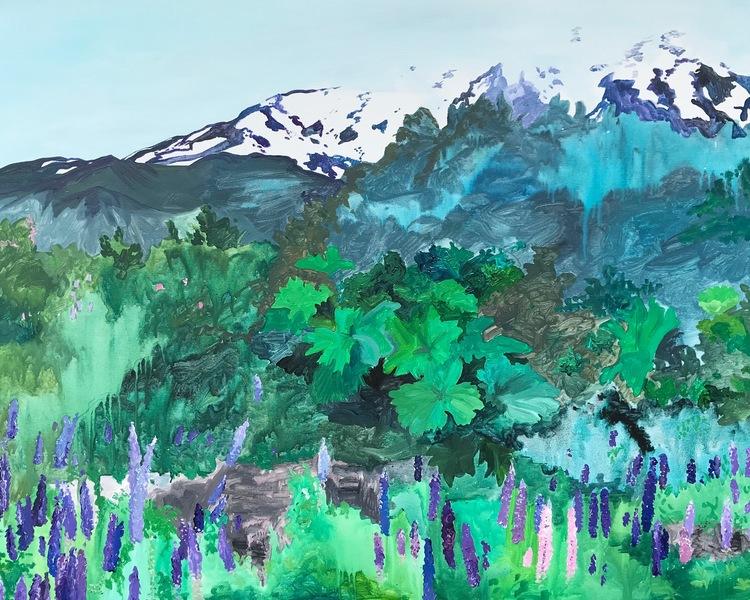 'Osorno', 2018, ett konstverk av Frida Johansson