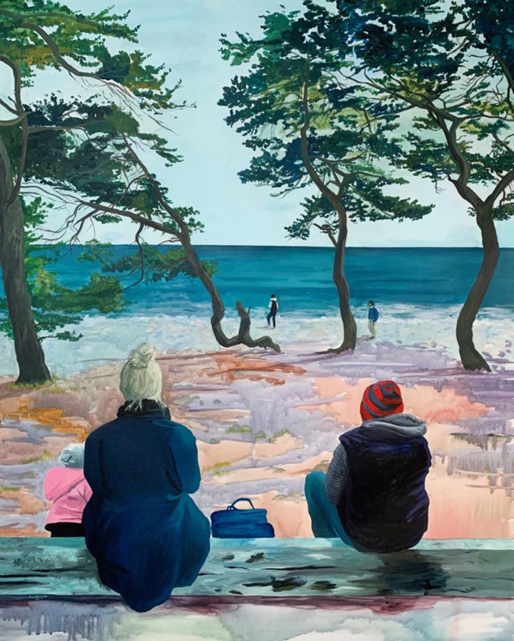 'Remembrances', 2019, ett konstverk av Frida Johansson