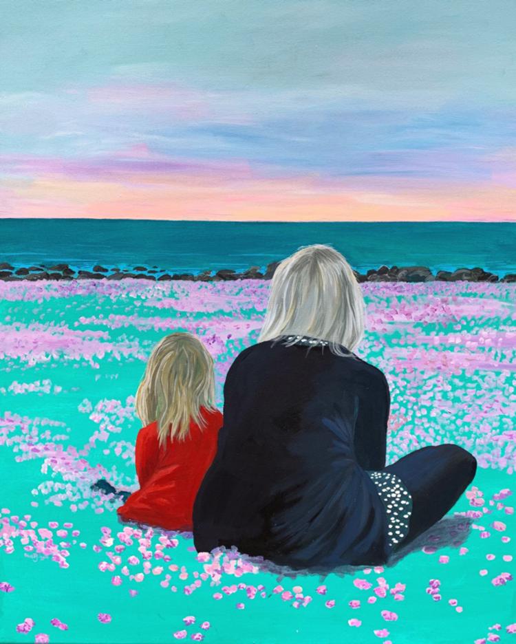 'Bland trift', 2019, ett konstverk av Frida Johansson