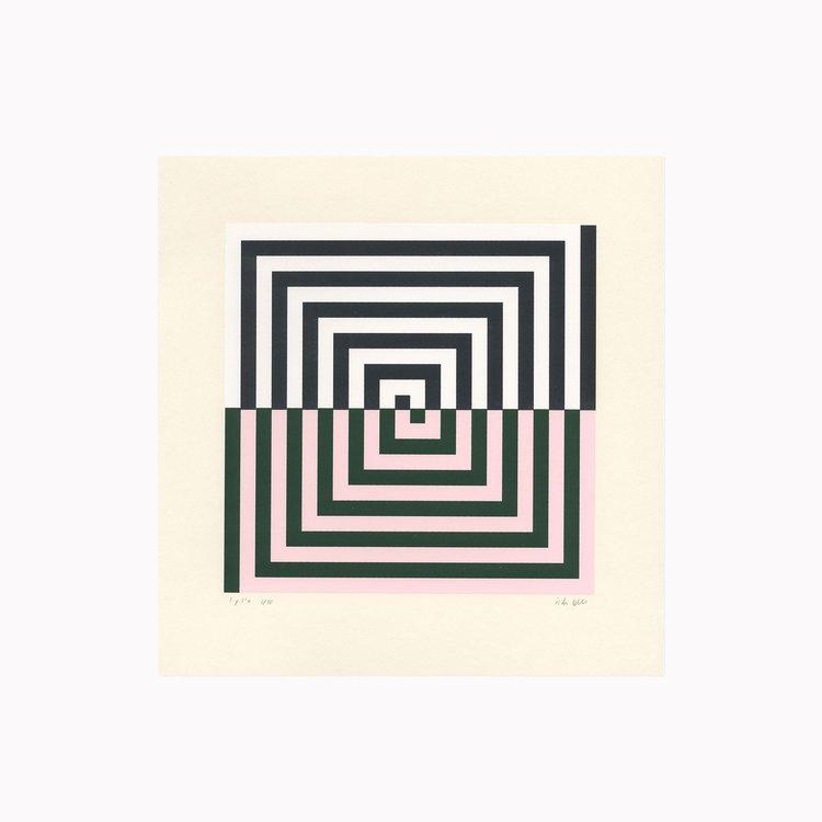 '4. 9.03 AM', 2019, ett konstverk av Inka Bell