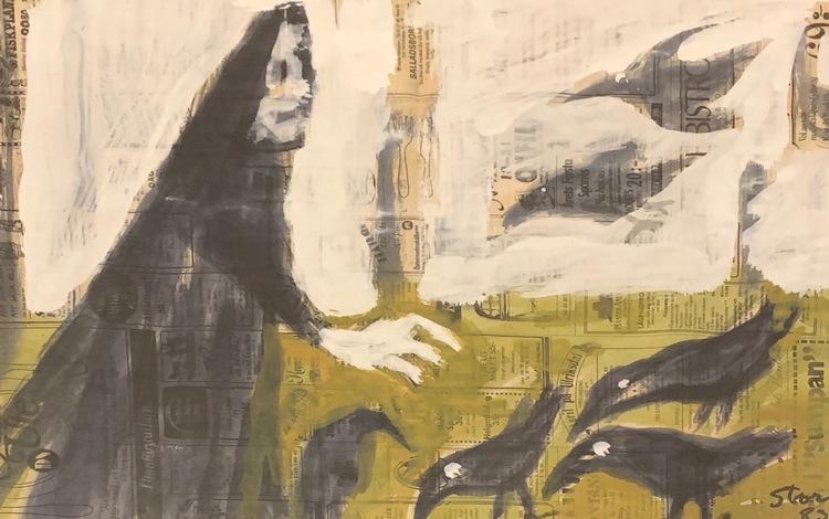 '4. Utan titel', 2019, ett konstverk av Sven Storm