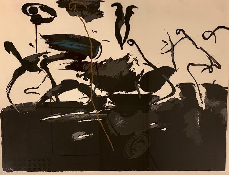 '4. Utan titel', 2019, ett konstverk av Lage Lindell
