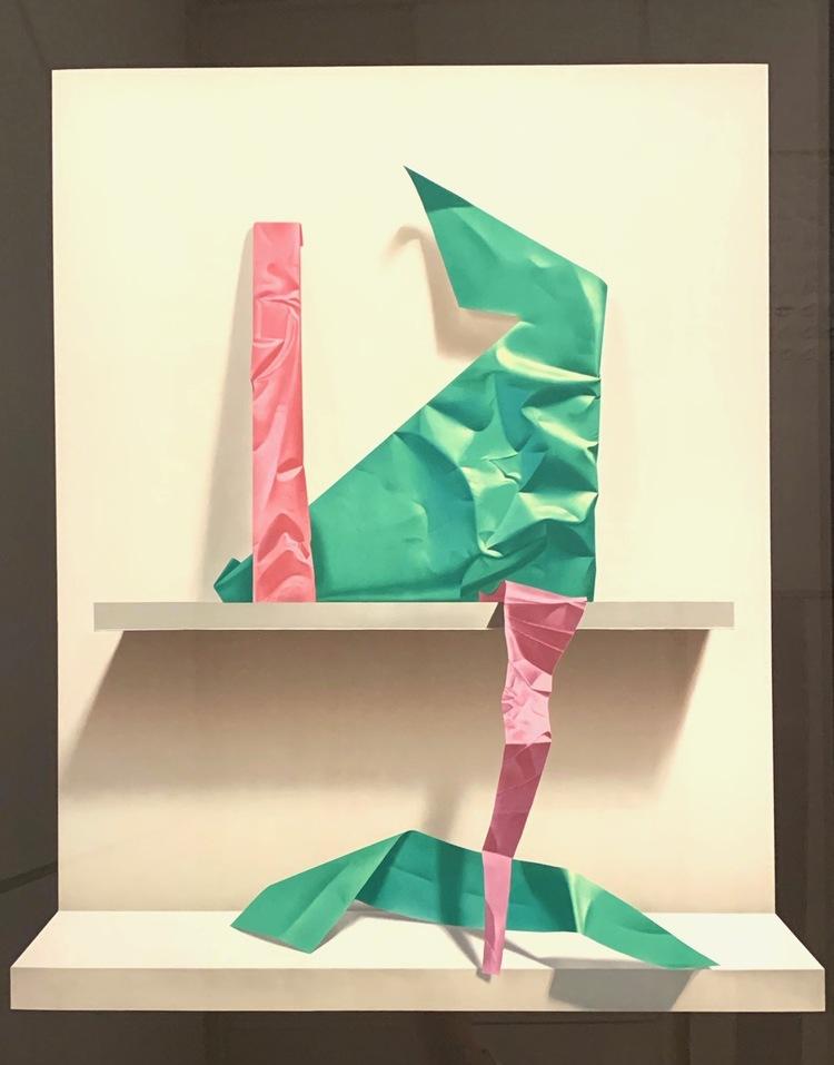 '4. Utan titel', 2019, ett konstverk av Yrjö Edelmann