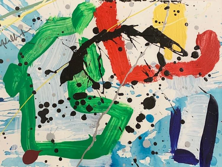 '5. Utan titel', 2019, ett konstverk av Per Adalbert von Rosen