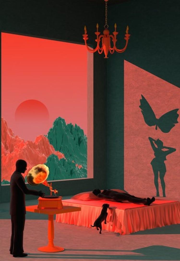 '5, Butterflies', 2019, ett konstverk av Tishk Barzanji