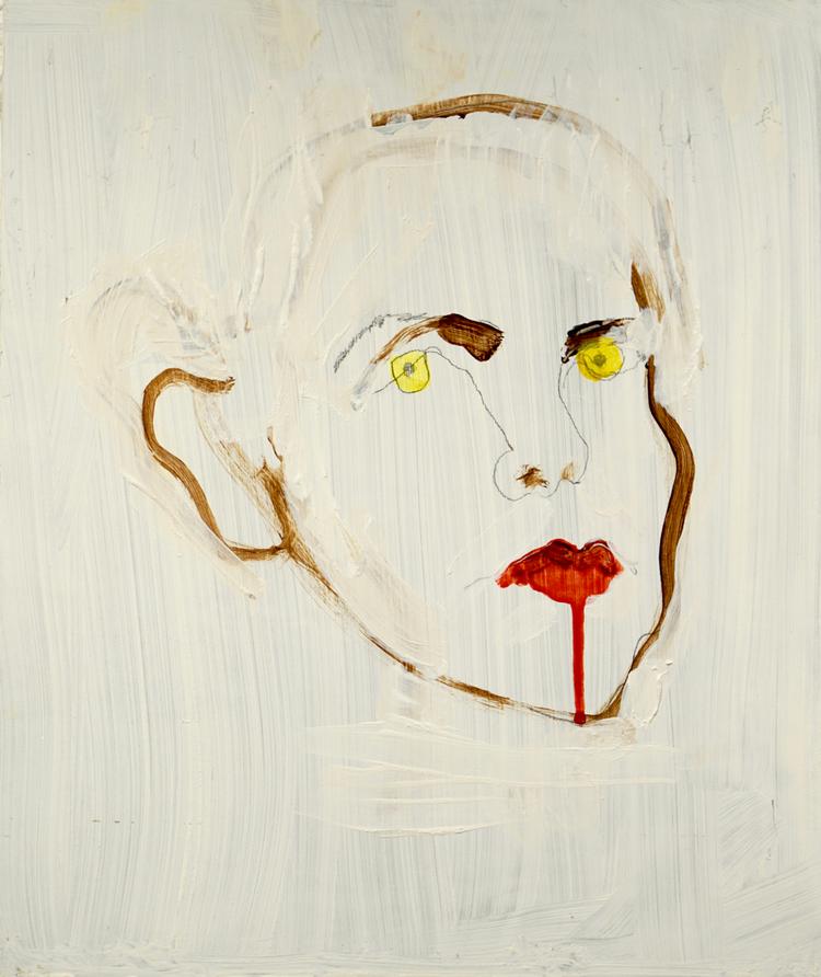 'Violence I', 2015, ett konstverk av Annika Svahnberg