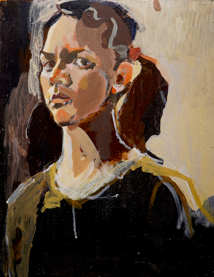 'Young Annika II', 1995, ett konstverk av Annika Svahnberg