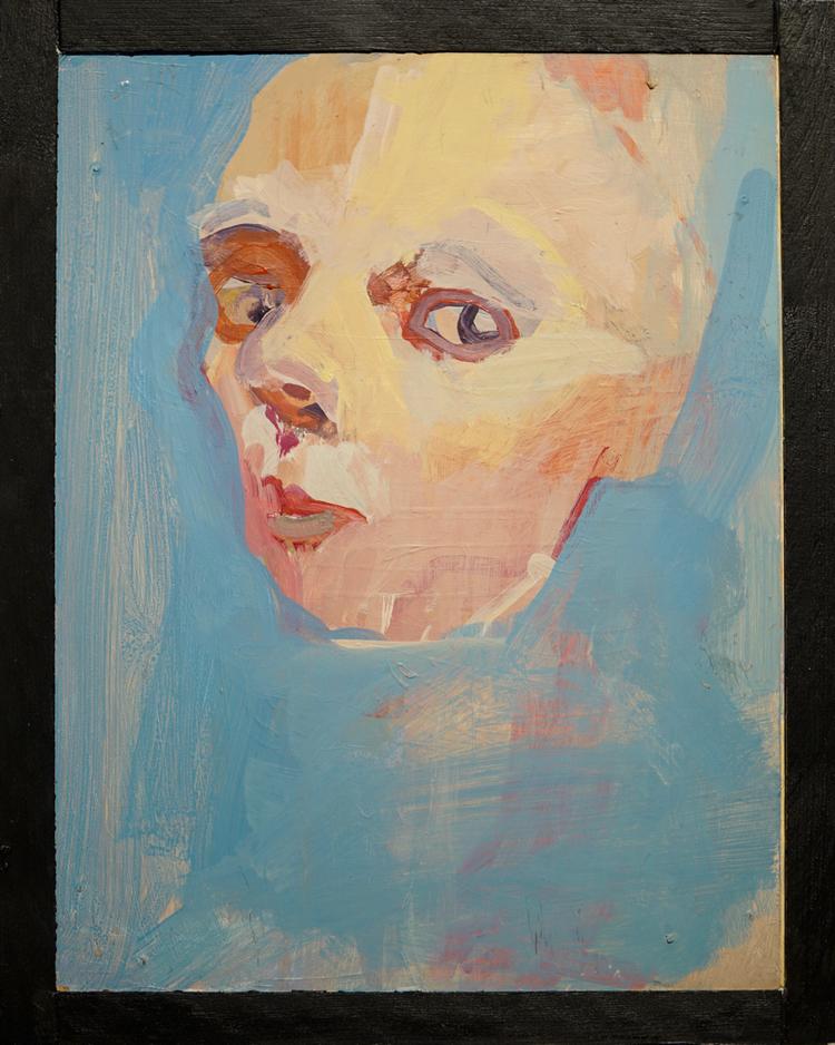 'Young Annika III', 1995, ett konstverk av Annika Svahnberg