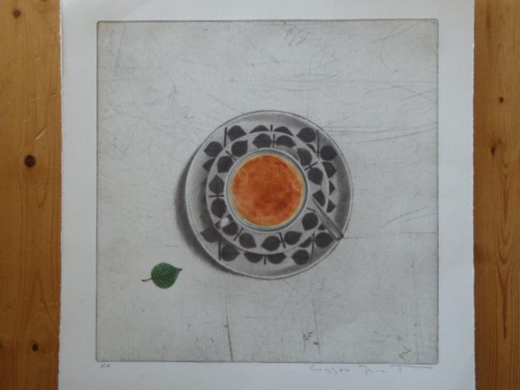 'En kopp te', ett konstverk av Laggar-Jan Tigerstrand