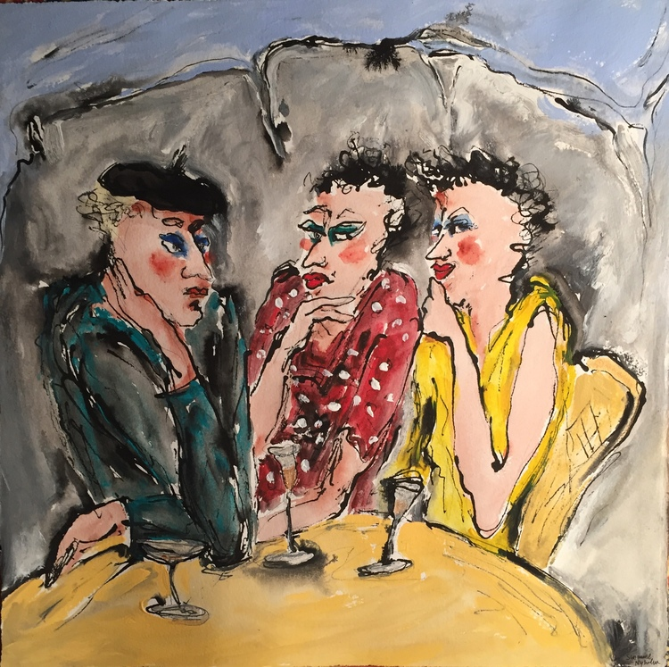 'A beautiful friendship', 2019, ett konstverk av Susanne Nyholm