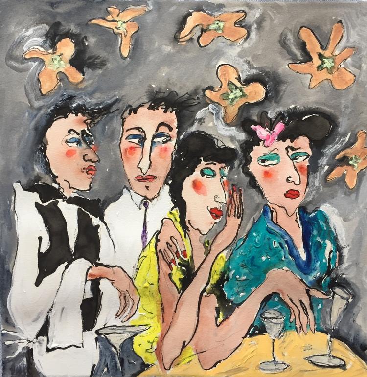 'Las ilusiones perdidas', 2020, ett konstverk av Susanne Nyholm