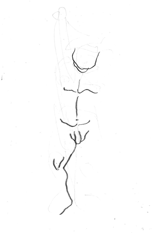 'Two minute moves of a man no. 2', 2018, ett konstverk av Cecilia Klementsson