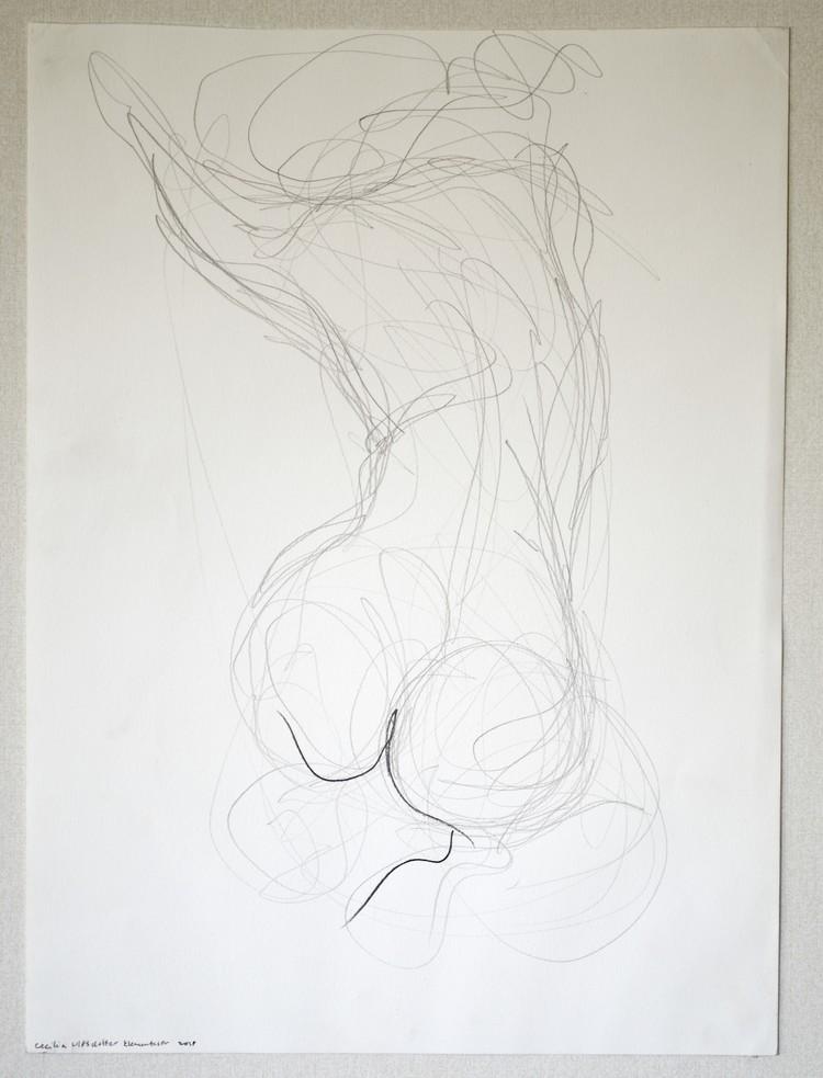 'Fast Movement', 2018, ett konstverk av Cecilia Ulfsdotter Klementsson
