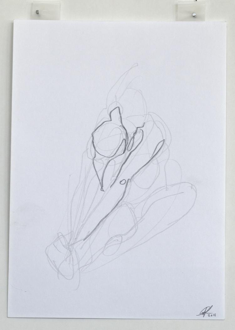 'Selected lines no. 2', 2018, ett konstverk av Cecilia Ulfsdotter Klementsson