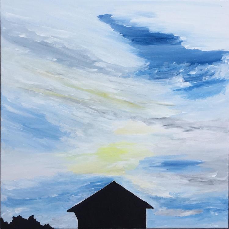 'Ovädret regnbåge', 2019, ett konstverk av Linn Henrysson