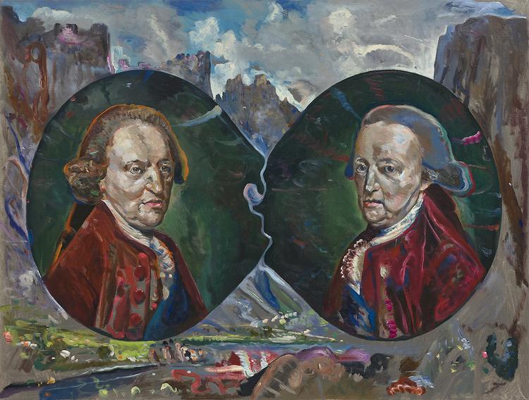 'Twin souls', 2014, ett konstverk av Thomas Edetun
