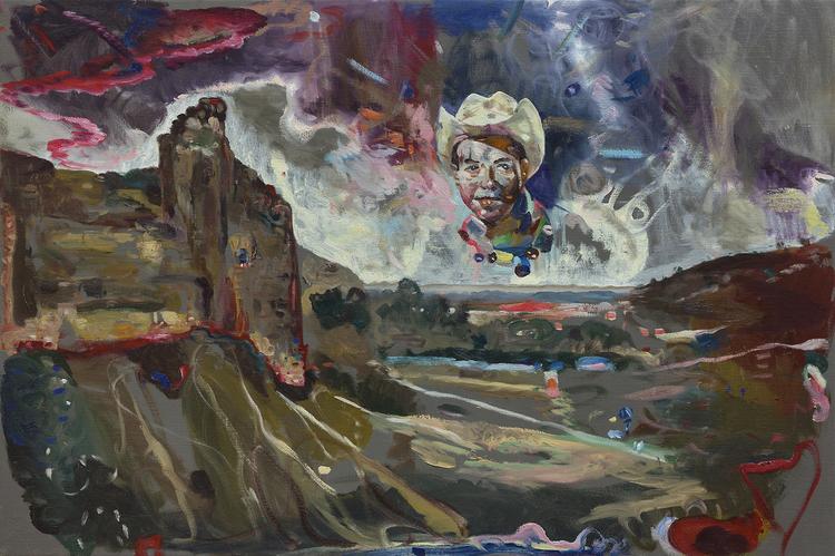 'Mission man', 2017, ett konstverk av Thomas Edetun