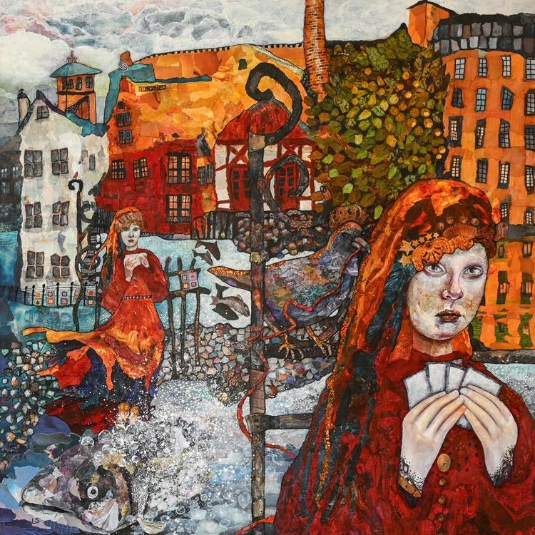 'Home', 2019, ett konstverk av Lena Svedjeholm