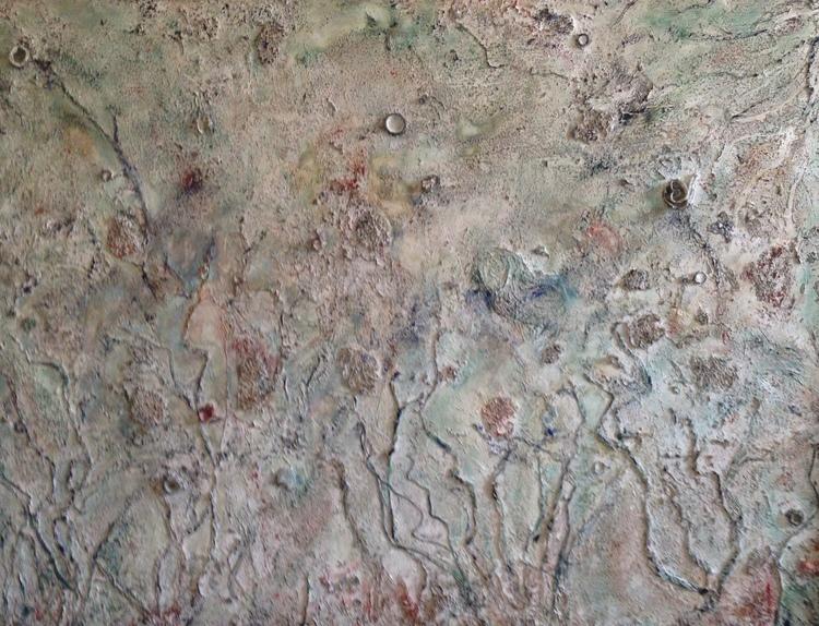 'Coral Garden', 2018, ett konstverk av Monica Benet