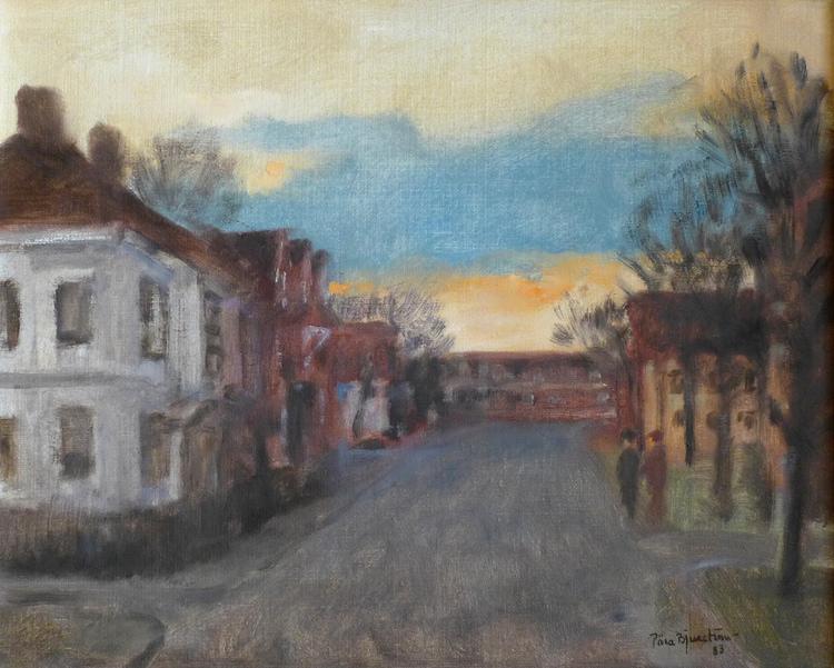 'Vasagatan', 2019, ett konstverk av Pära Bjurström