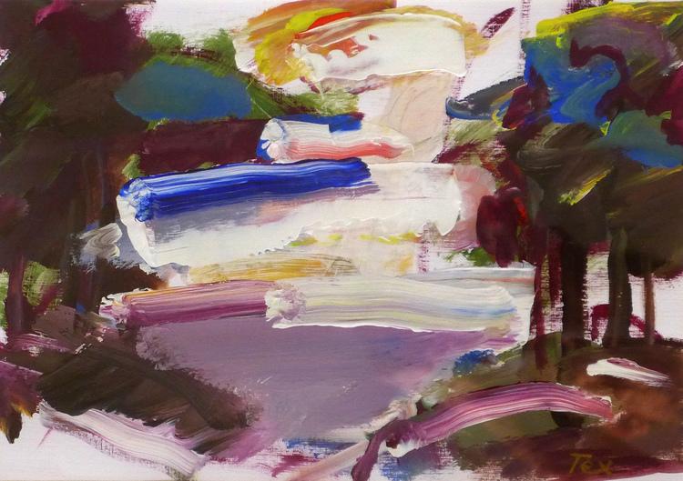 'Utan titel', 2019, ett konstverk av Tex Berg