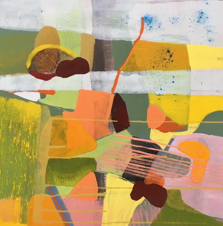'Tätt intill marken', 2019, ett konstverk av Malin Palm