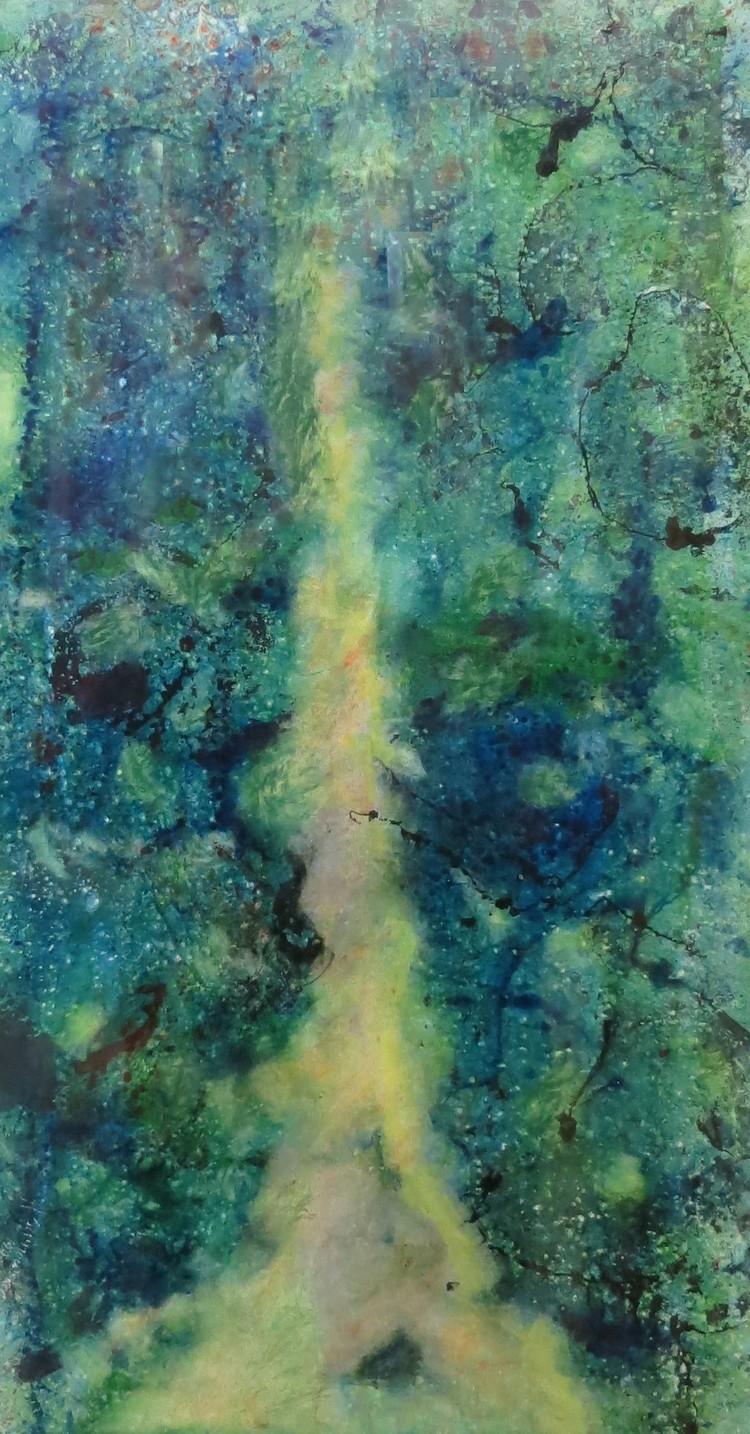 'Skogsstigen', ett konstverk av Hanna Gumowska Wagnås