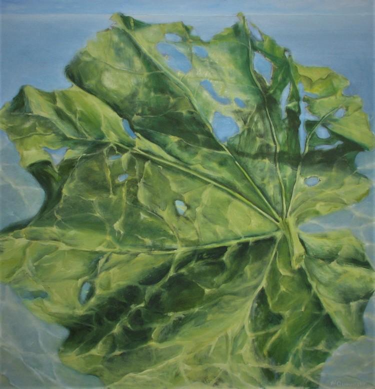 'Organiska strukturer', ett konstverk av Hanna Gumowska Wagnås