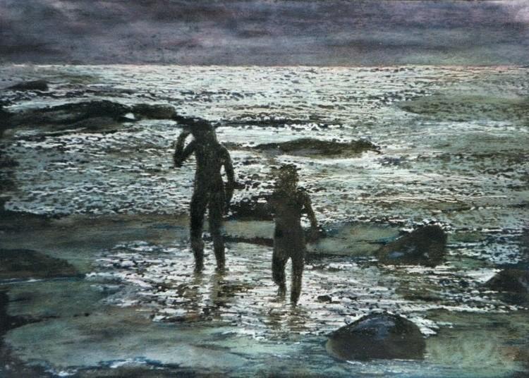 'I skymningen', ett konstverk av Hanna Gumowska Wagnås