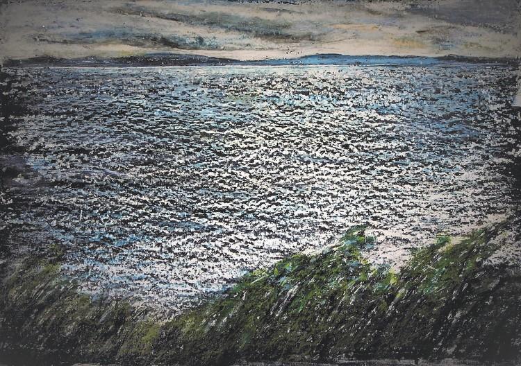 'Vättern', 2019, ett konstverk av Hanna Gumowska Wagnås