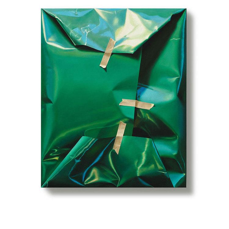 'Green factors that affect the pulse', 2013, ett konstverk av Yrjö Edelmann