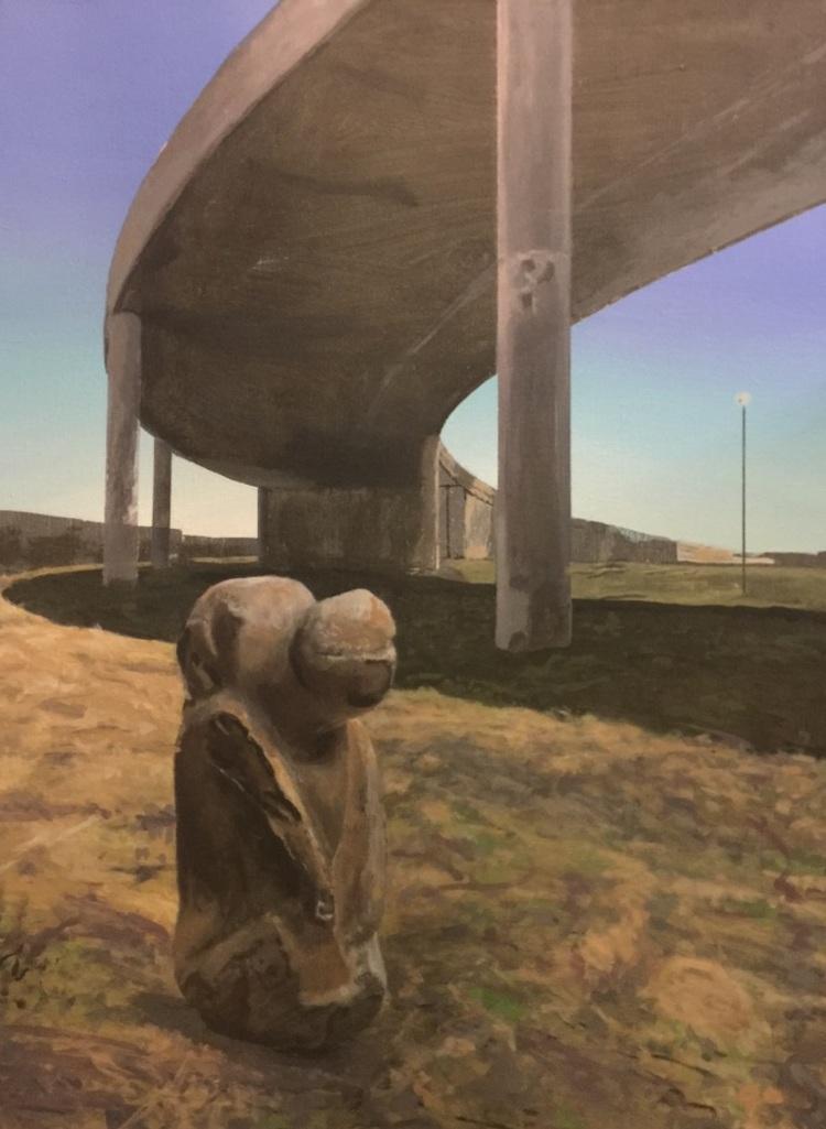 'Highway', 2018, ett konstverk av Per-Ivar Lindekrantz