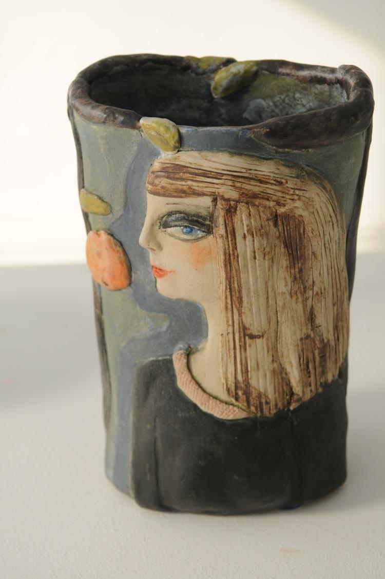 'Keramik', 2019, ett konstverk av Sonja Thurborg