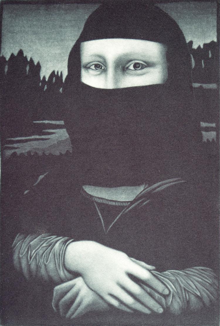 'Mona', 2019, ett konstverk av Jukka Vänttinen