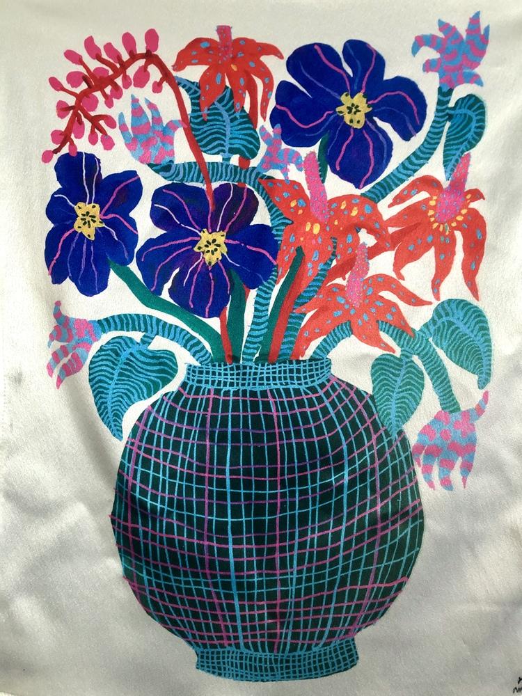 'Flowers', 2020, ett konstverk av Yoyo Nasty