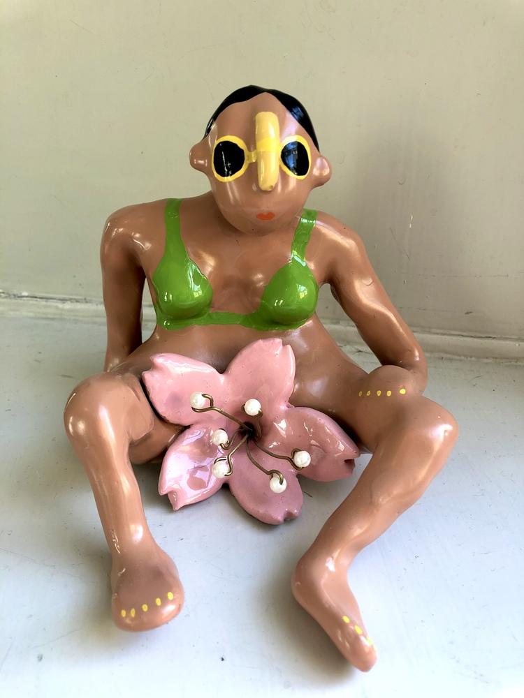 'Girl', 2020, ett konstverk av Amy Worrall