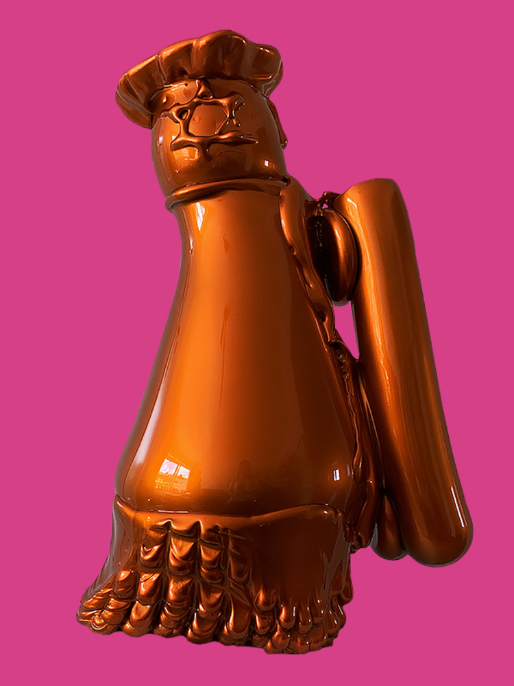 'Candy Carpaint', 2019, ett konstverk av Fredrik Nielsen