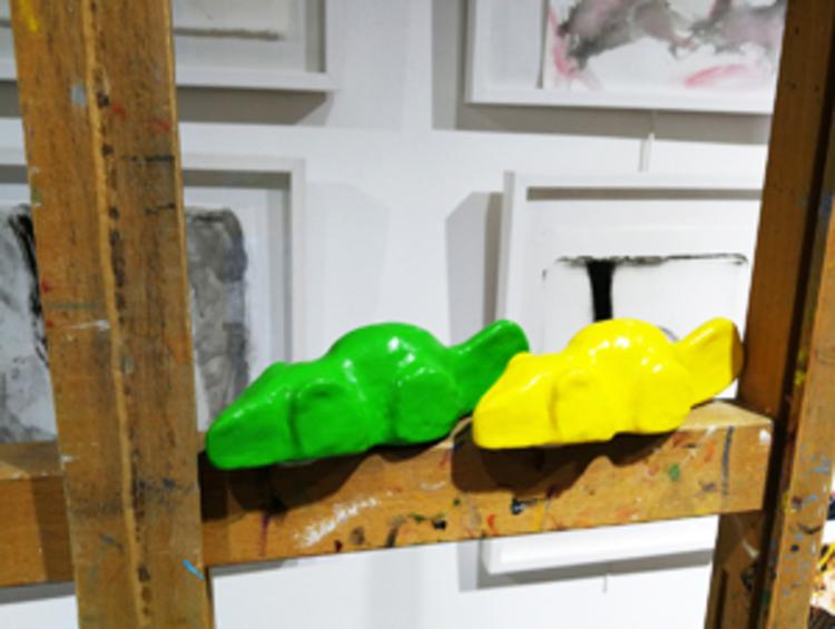 'Heavy candy', 2009, ett konstverk av Carmen Lindahl