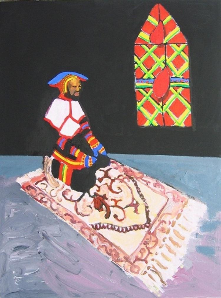 'Korsbefruktning ', 2012, ett konstverk av Henrik Olsson