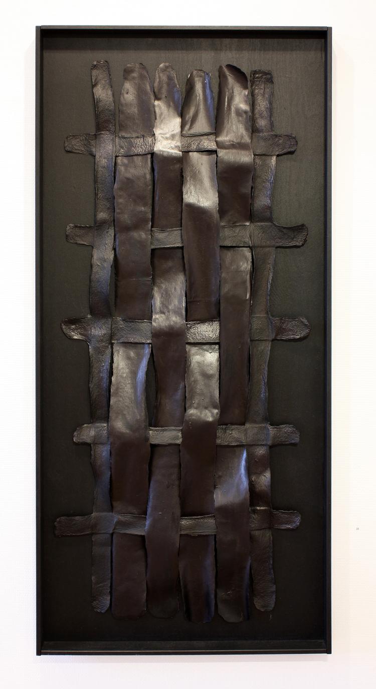 'Nätverk II', 2019, ett konstverk av Kerstin Svanberg